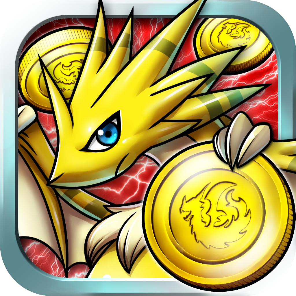 Dragon Coins, ein Coin Dozer-RPG iOS